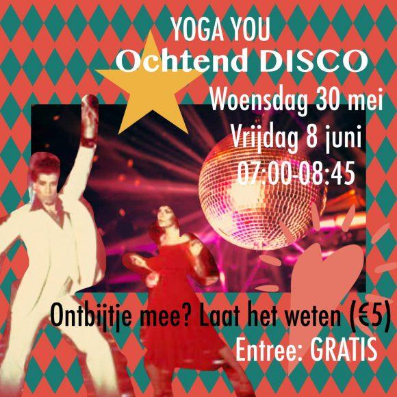 Yoga you ochtend disco