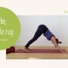 hatha voor een sterke flexibele rug