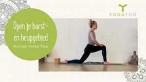 rustige yoga met Loes