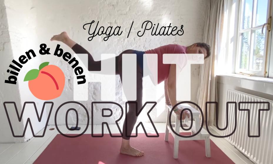 billen en benen hiit yoga pilates