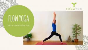 Flow yoga met lisa - zonnegroet
