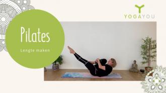 Pilates met Mirjam - lengte maken