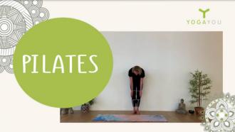 Online pilates van Mirjam