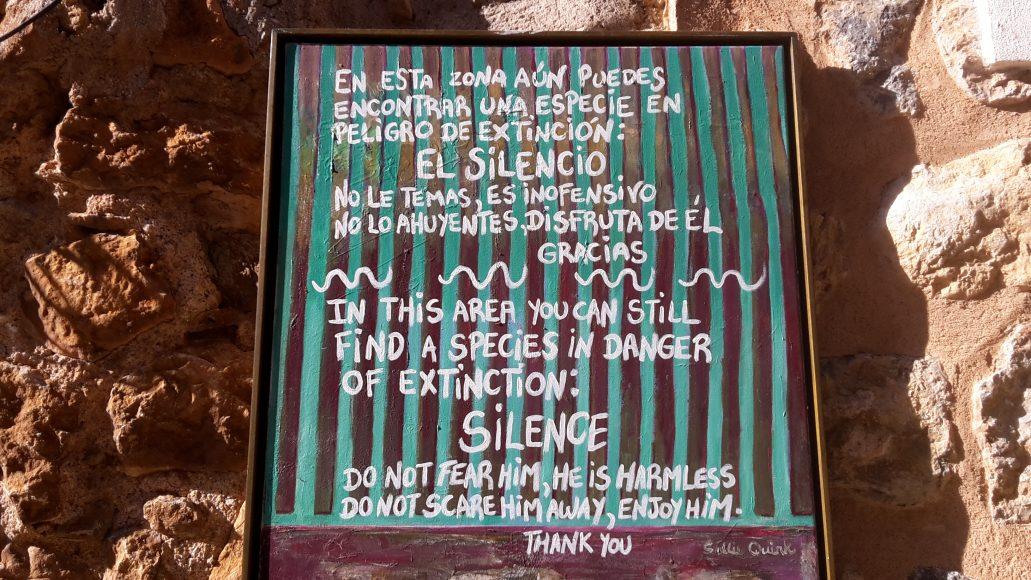 Dayretreat Dirkje - silence