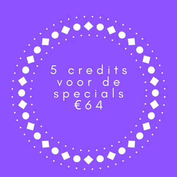 5 credits specials yoga you zwolle
