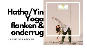 hatha yin yoga flanken en onderrug