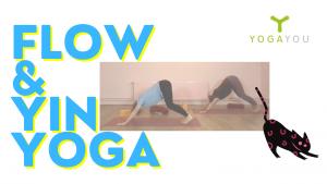 flow yoga en yin yoga