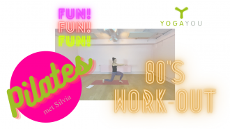 Pilates 80's work-out met Silvia