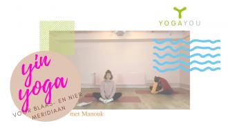 yin yoga voor blaas- en nier meridiaan