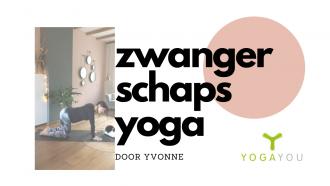 zwangerschaps yoga door Yvonne