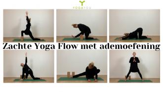Zachte Yoga Flow met ademoefening