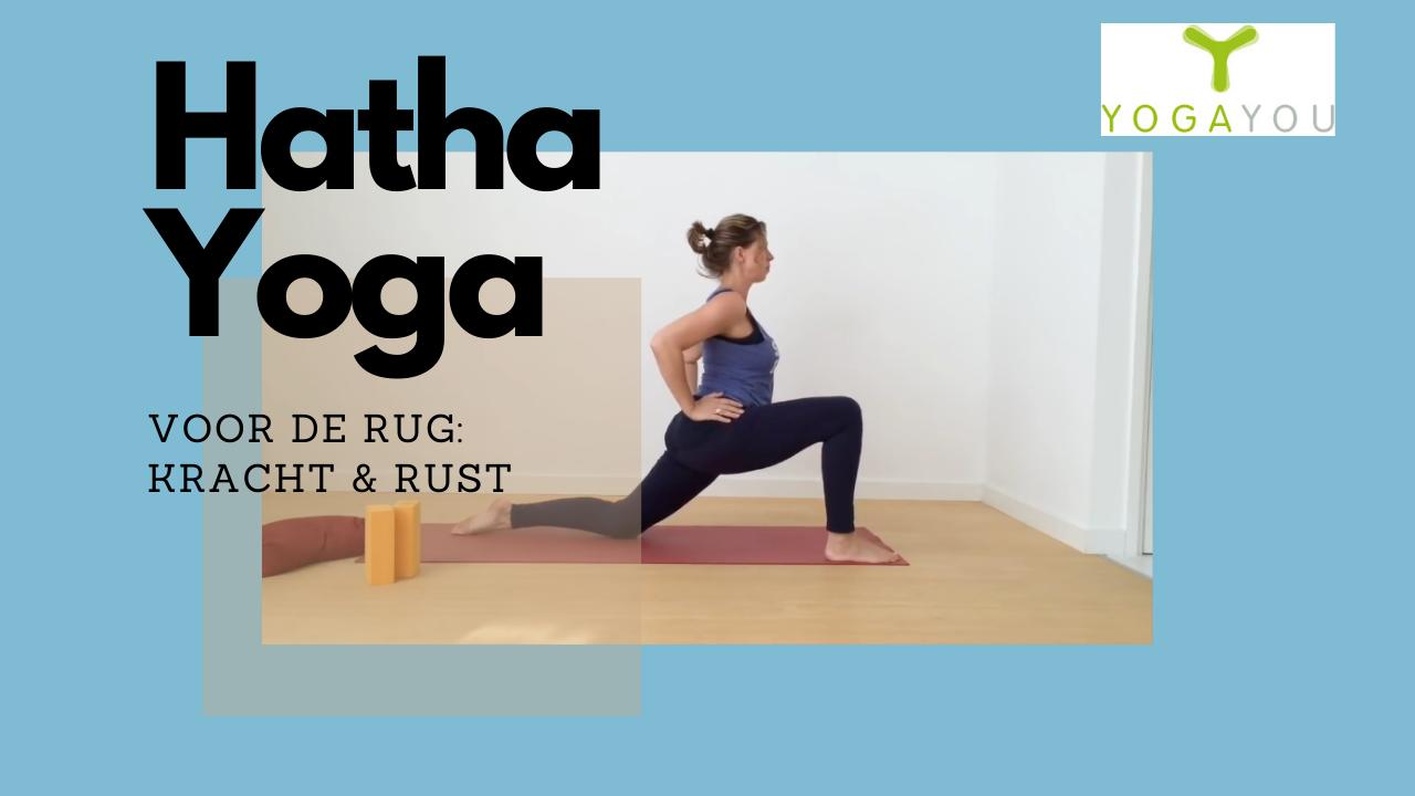 Hatha Yoga voor de rug door Marjet van der Linde