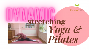 Herstellende yoga pilates dynamic stretching