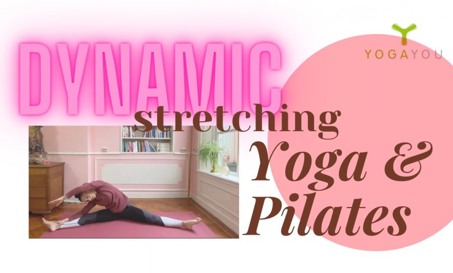 Herstellende yoga pilates dynamic stretching