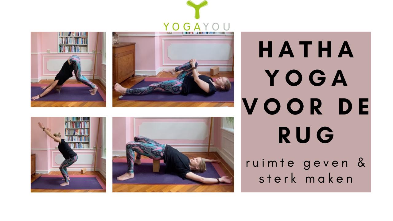 hatha yoga voor de rug