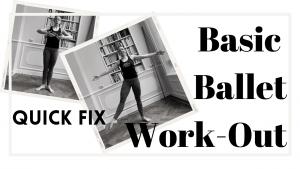 ballet basics workout voor innerlijke lengte