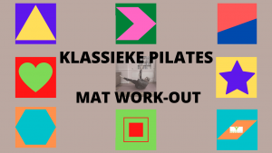 klassieke basis Pilates les mat work-out