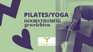 pilates yoga voor doorstroming rond de gewrichten