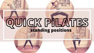 verbeter je houding quick fix pilates standing positions cardio